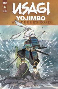 Usagi Yojimbo: Wanderers Road #4 (2021)