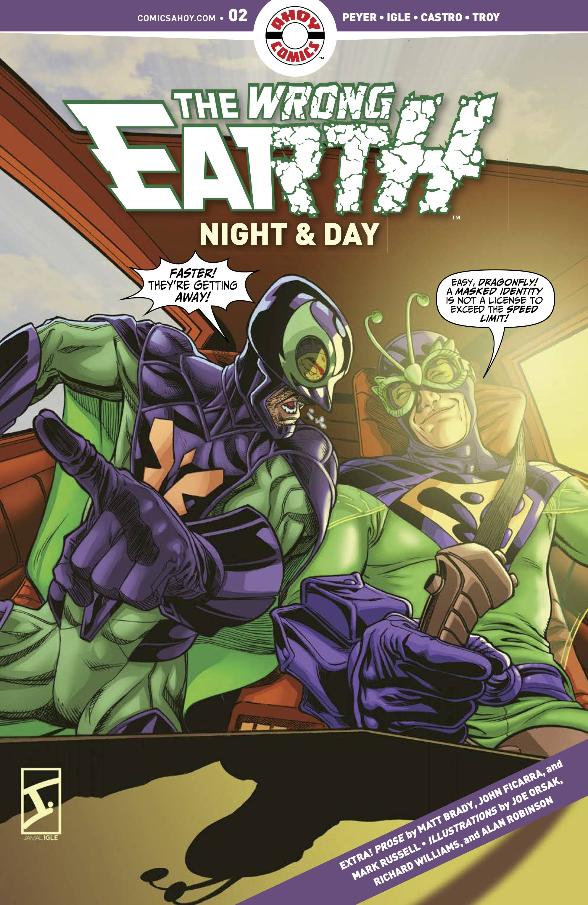 Wrong Earth: Night And Day #2 (2021)