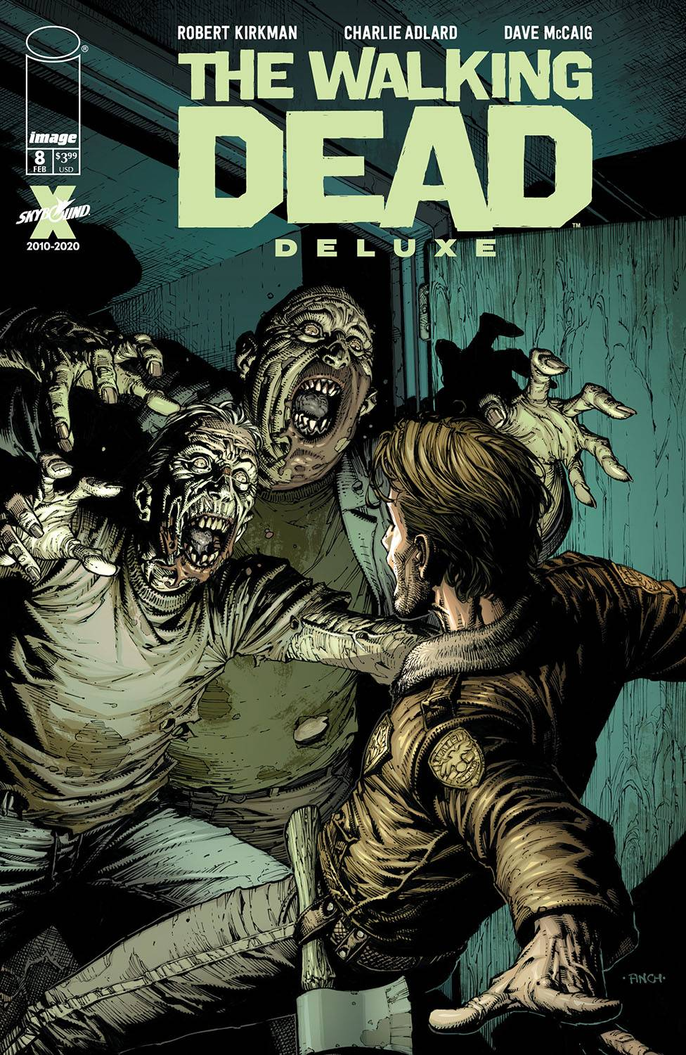 The Walking Dead Deluxe #8 (2021)