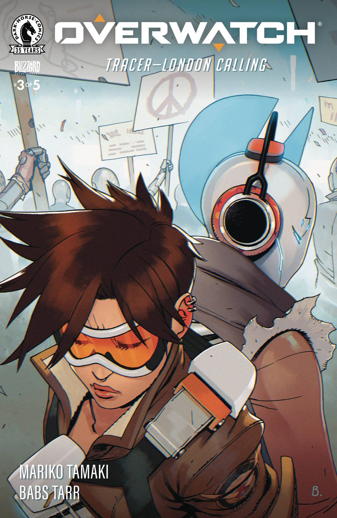 Overwatch: Tracer - London Calling #3 (2021)