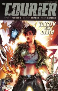Courier Liberty and Death #3 (2021)