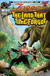 Zorro in the Land That Time Forgot #3 (2021)