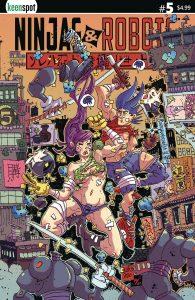 Ninjas & Robots #5 (2021)