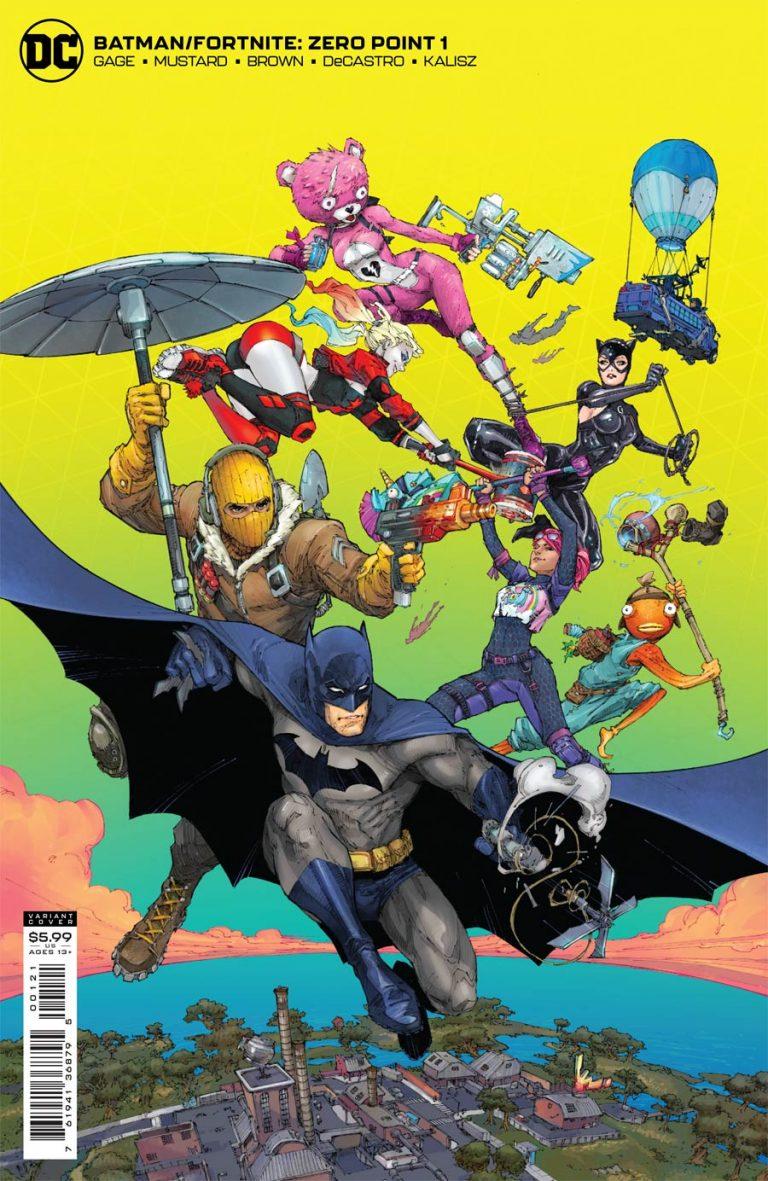 Batman Fortnite Zero Point #1 (2021)