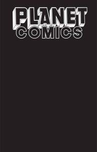 Planet Comics Sketchbook #1 (2021)