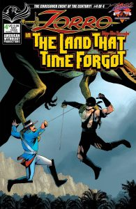 Zorro in the Land That Time Forgot #4 (2021)