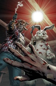 Man Goat and the Bunny Man #1