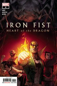 Iron Fist: Heart of the Dragon #4 (2021)