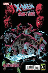 X-Men: Curse of the Man-Thing #1 (2021)