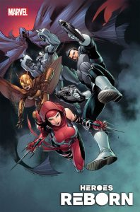 Heroes Reborn: Squadron Savage #1 (2021)