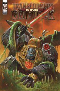 Transformers: King Grimlock #2 (2021)