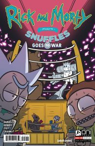 Rick & Morty Presents: Snuffles Goes To War #1 (2021)